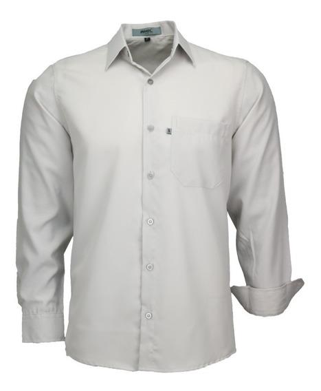 Kit Amil 6 Camisas Social Não Amassa C/bolso P/ Sua Empresa