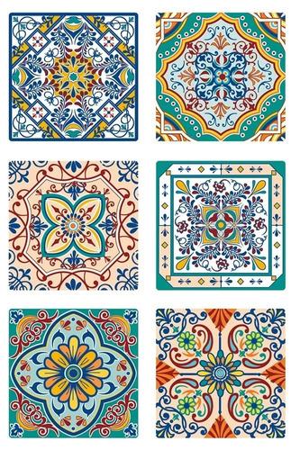 Azulejos Autoadhesivos Vinilo Muresco 1645/1 X 6
