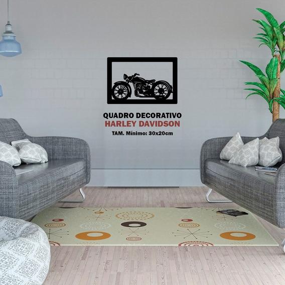 Quadro Decorativo Motocicleta