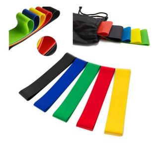 Kit 5 Mini Bands Funcional Pilates