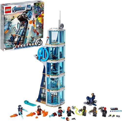 Lego Avengers 76166 Batalla Torre Super Heroes 685pz