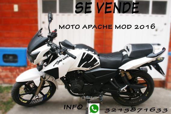 Moto Apache Rtr 180 Mod 2016