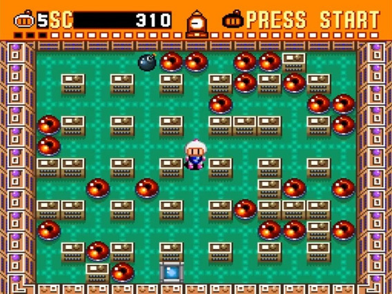 Jogo Bomberman Collection (1,2,3,4,5) Para Pc Envio Imediato