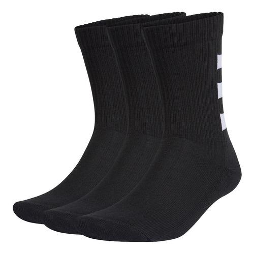 Imagen 1 de 8 de Calcetines adidas Clásicos Semiacolchados 3 Pares Negro