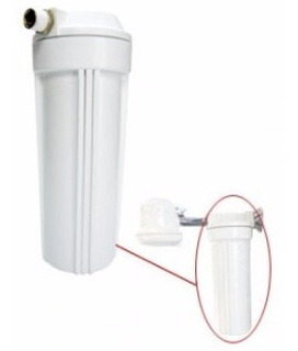 Filtro Água Chuveiro Hospitalar Altura 10 Retira 98% Cloro