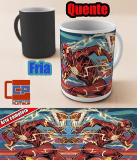 Caneca Magica Flash Hqs Dc Comics