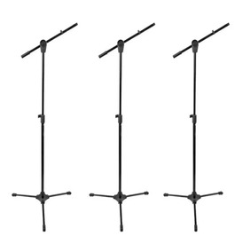 Kit 3 Pedestal Para Microfone Rmv Psu 142 + Nf
