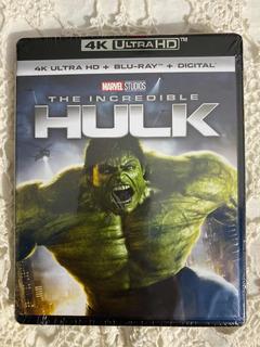 El Increíble Hulk Combo 4k- Blu-ray Sellada De Fábrica!