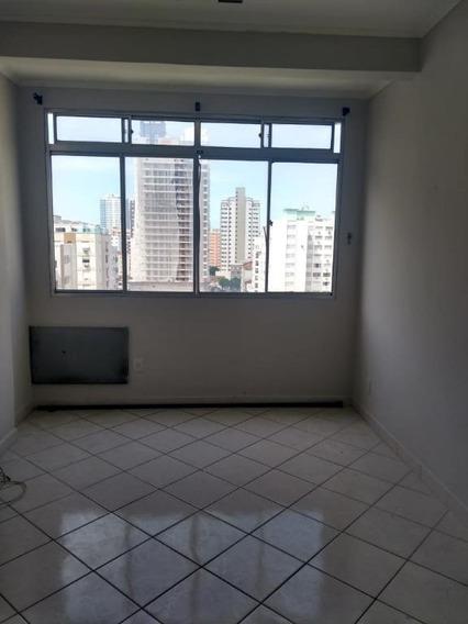 Kitnet À Venda, 32 M² Por R$ 180.000,00 - Embaré - Santos/sp - Kn0027