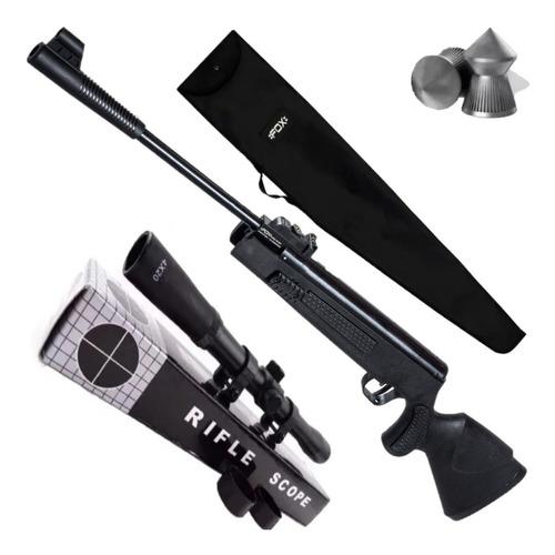 Rifle Aire Comprimido Fox Nitro Piston Rebel Sr1400+ 4x20