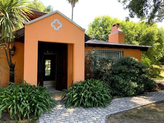 Casa Quinta Estilo Campo En Pilar-25.000m2