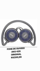 Fone De Ouvido Akg 420