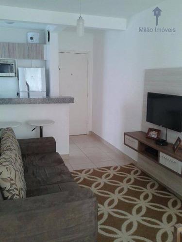 Apartamento À Venda 2 Dormitórios, Condomínio Parque Sicília, Campolim - Ap0033