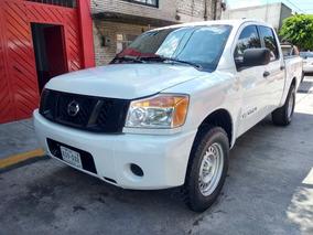 Nissan Titan Doble Cabina 2012, 4x4, Impecable, Todo Pagado