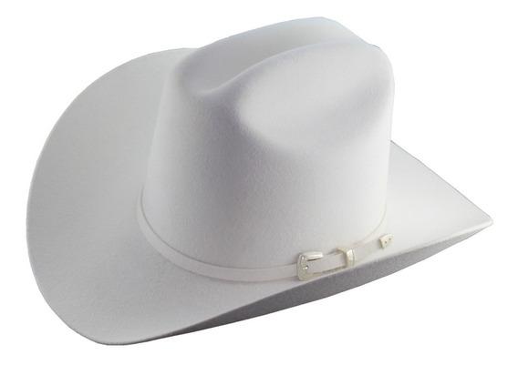 Sombrero Texana Goldstone Joan Sebastian 100% Lana Fina.