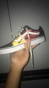 Vans Flames
