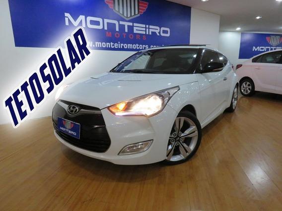 Hyundai Veloster 1.6 Aut Top De Linha C/ Teto Só 86.100 Km