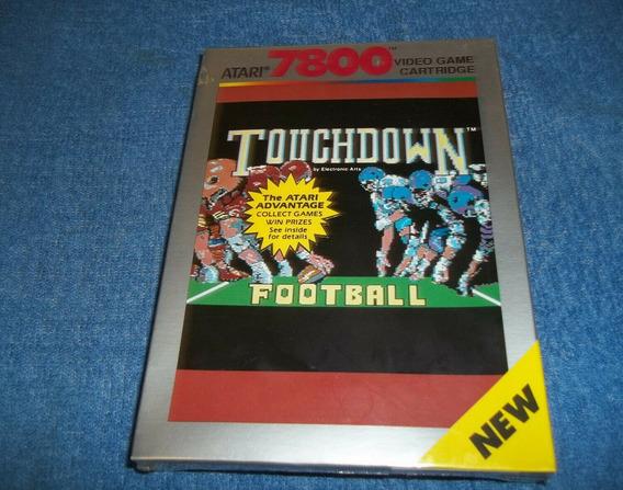Atari Vintage Jogo Touchdown 7800 Lacrado Cartucho 1988 Raro