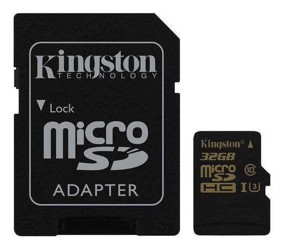 Cartão Kingston Micro Sdhc 32gb Uhs-1 C10 U3 V30 90mb/s