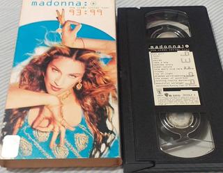 Madonna Vhs Videos 93 Al 99