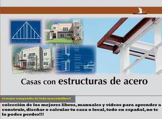 Libro Manual Compendio Steel Framing Frame Completo Digiita