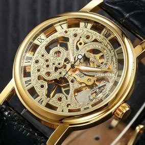 Relógio Grande A Corda,masculino,mecânico, Modelo 103b