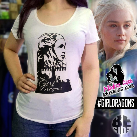 Remera Got Daenerys / Mother Of Dragon / Game Of Throne/geek