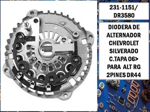 Diodera Chevrolet Silverado C.tapa 06 Rg 2p Dr44  Dr3580