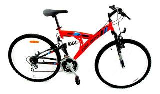 Bicicleta Fire Bird Mtb R.26 Doble Suspension. Envio Gratis