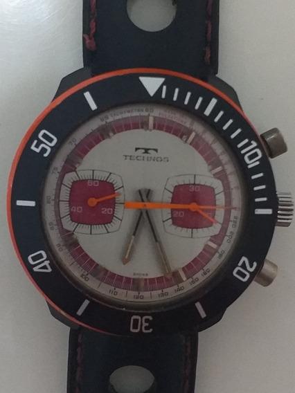 Relógio Raríssimo Anos 70 Technos & Tag Heuer Colecionador
