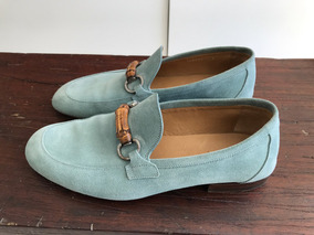 Sapato Gucci Azul Tam 8