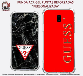 Funda Acrigel Guess Lujo Galaxy A6 A8 Plus A7 A9 2018 J4 M20