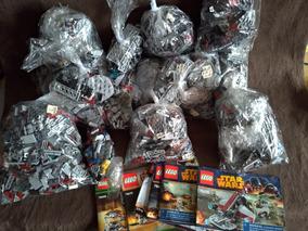 Lego Lote Star Wars 75034 75036 75035 75088 75132 E Outros