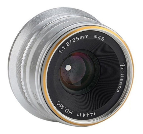 Lente 7artisans 25mm F1.8 Manual Lens For Fuji Fujifilm