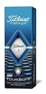 Kaddygolf Pelotas Golf Titleist Tour Soft Tubo X 3