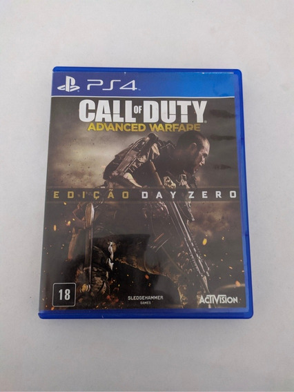 Jogo Call Of Duty Advanced Warfere Mídia Física Playstation4