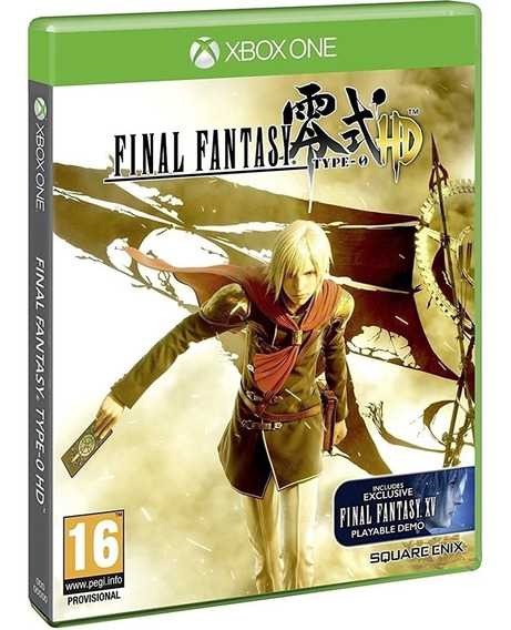 Jogo Final Fantasy Type 0 Hd Xbox One Mídia Física Original