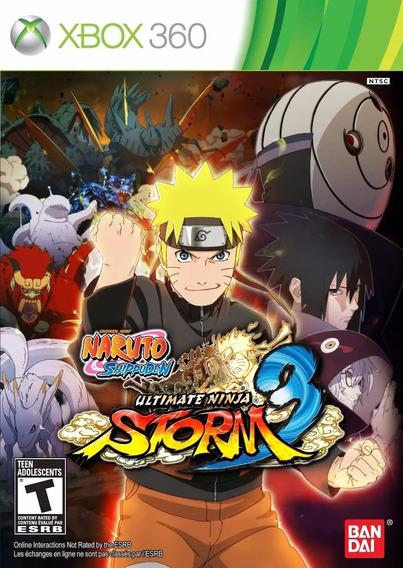 Naruto Shippuden X360 Ultit.ninja Storm 3 Original Lacrado