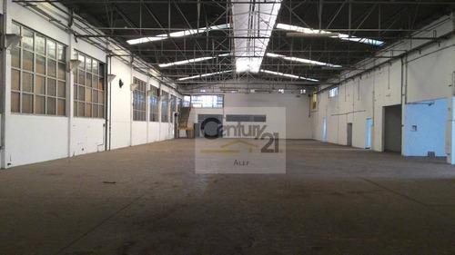 Imagem 1 de 10 de Galpão Industrial Para Locação - Ga0005