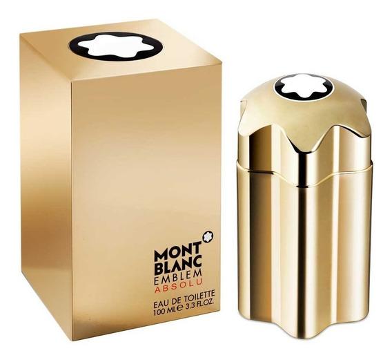 Decant Amostra Do Perfume Mont Blanc Emblem Absolu Men 2ml