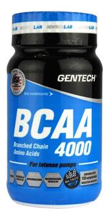 Aminoacido Ramificado Bcaa 4000 Gentech 120 Tabletas