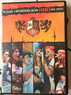 Dvd Rbd Tour Generación Em Vivo Original