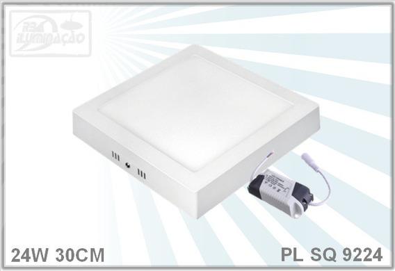Kit 4pcs - Plafon Led 24w Sobrepor