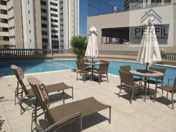 Apartamento Para Locação Em Salvador, Pituba - Aquarius, 4 Dormitórios, 4 Suítes, 5 Banheiros, 2 Vagas - 269
