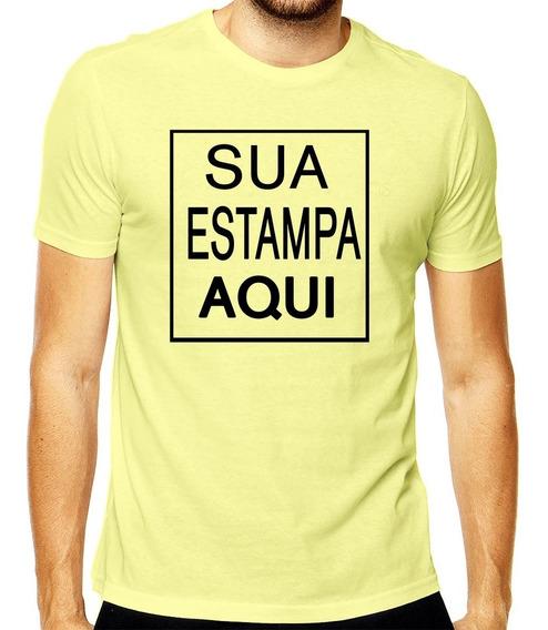 4 Camisetas Camisa Personalizada Logo Empresa Imagem Festas