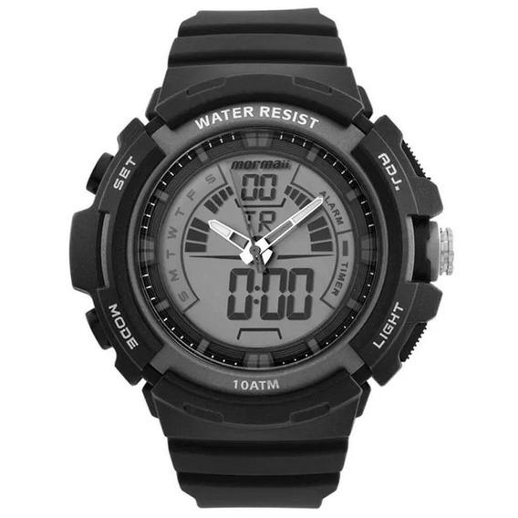 Relógio Mormaii Masculino Acqua Anadigi Moad08902/8c