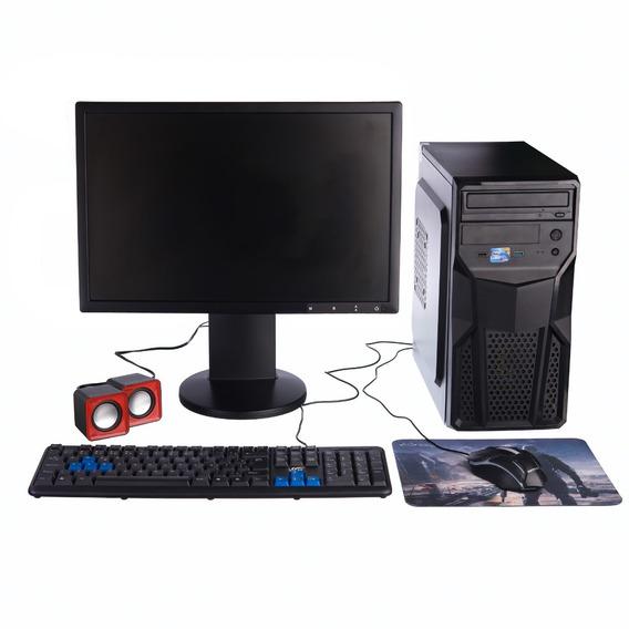 Computador Monitor 19 Core 2 Duo 2gb Ssd 120gb Hd 500gb Wifi