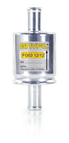 Filtro Metal Gnvfil 12mm Interno Gnv 5 E 6 Geração Kit Gas
