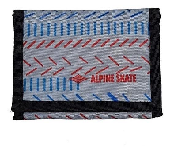 Billetera Alpine Skate Modelos Colores Original Regalosleon