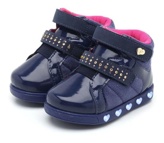 Tênis Pampili Sneaker Luz Azul 165062